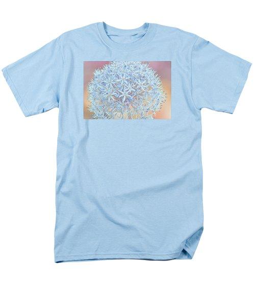 Men's T-Shirt  (Regular Fit) featuring the digital art Allium Bursting by Susan  McMenamin