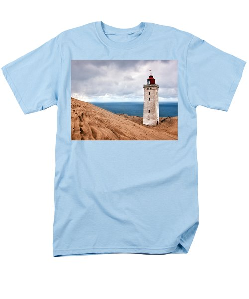 Lighthouse On The Sand Hils Men's T-Shirt  (Regular Fit) by Mike Santis
