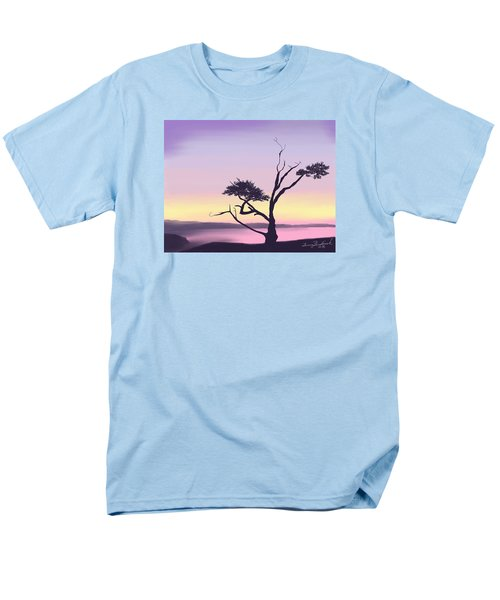 Men's T-Shirt  (Regular Fit) featuring the digital art Anacortes by Terry Frederick