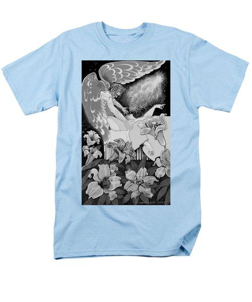 Angel Of Death Vision Men's T-Shirt  (Regular Fit) by Carol Jacobs