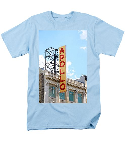 Apollo Theater Sign Men's T-Shirt  (Regular Fit) by Valentino Visentini