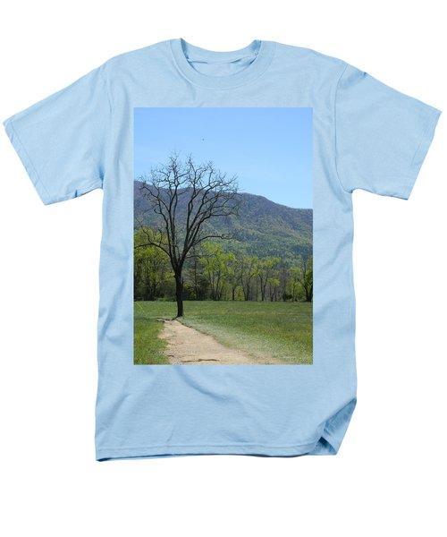 Appalachian Pathway Men's T-Shirt  (Regular Fit) by Mark Minier