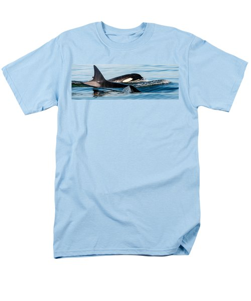 Aquatic Immersion Men's T-Shirt  (Regular Fit) by Roxy Hurtubise