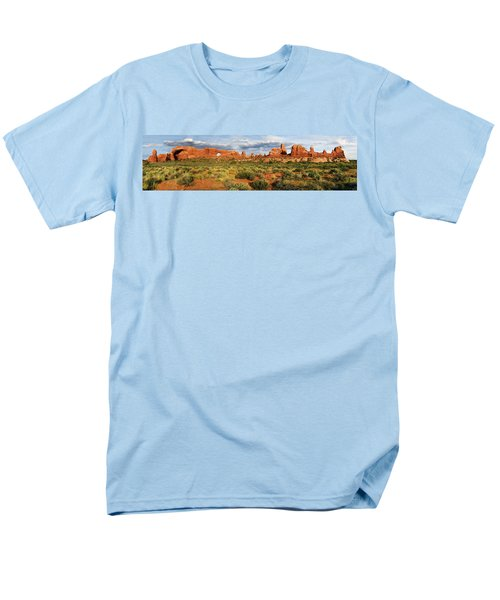 Arches National Park Panorama Men's T-Shirt  (Regular Fit) by Dave Mills