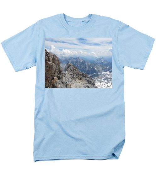 Men's T-Shirt  (Regular Fit) featuring the photograph As The Crow Flies by Pema Hou