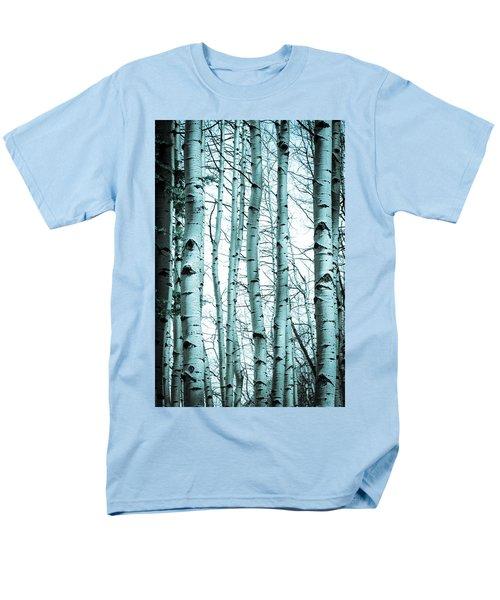 Aspen Blues Men's T-Shirt  (Regular Fit) by Debbie Karnes