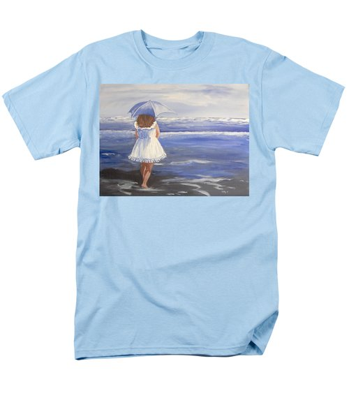 At The Beach Men's T-Shirt  (Regular Fit) by Catherine Swerediuk