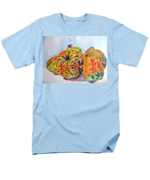 Autumn Gourds Men's T-Shirt  (Regular Fit) by Sandy McIntire