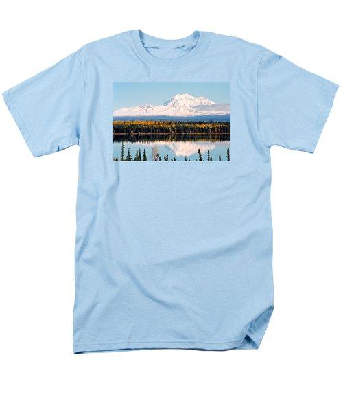 Autumn View Of Mt. Drum - Alaska Men's T-Shirt  (Regular Fit) by Juergen Weiss