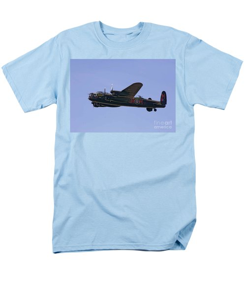 Avro 638 Lancaster At The Royal International Air Tattoo Men's T-Shirt  (Regular Fit) by Paul Fearn