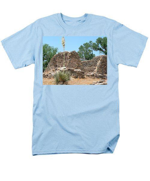 Aztec Ruins National Monument Men's T-Shirt  (Regular Fit) by Laurel Powell