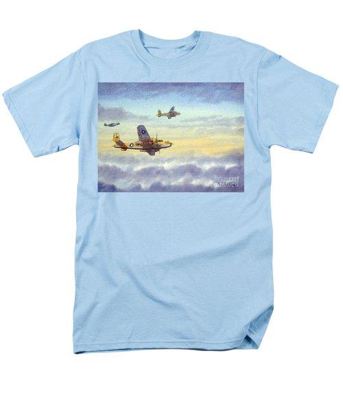 B-25 Mitchell Men's T-Shirt  (Regular Fit) by Bill Holkham