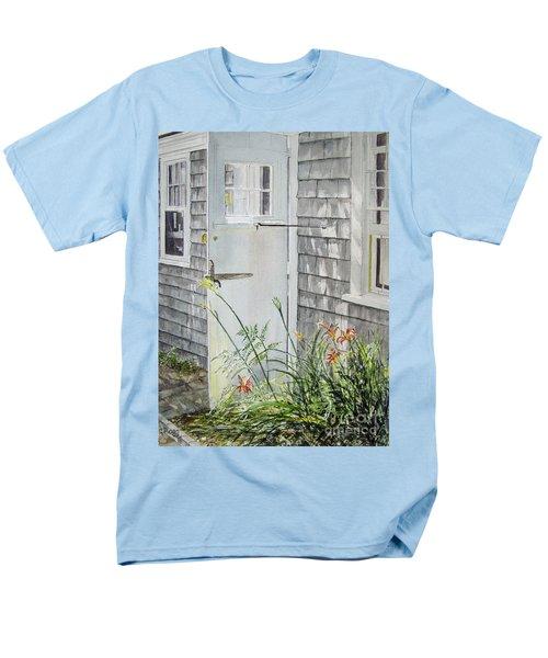 Back Door Nantucket Men's T-Shirt  (Regular Fit)