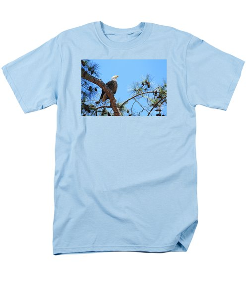 Men's T-Shirt  (Regular Fit) featuring the photograph Bald Eagle by Geraldine DeBoer