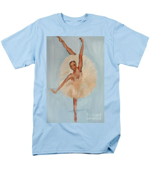 Men's T-Shirt  (Regular Fit) featuring the painting Ballerina by Marisela Mungia