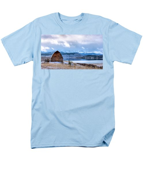 Barn At The Lake Men's T-Shirt  (Regular Fit) by John McArthur