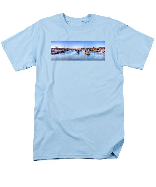 Men's T-Shirt  (Regular Fit) featuring the photograph Beacon Bay by Jim Carrell