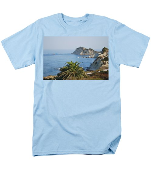 Men's T-Shirt  (Regular Fit) featuring the photograph Beautiful Erikousa 1 by George Katechis