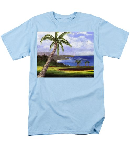 Men's T-Shirt  (Regular Fit) featuring the painting Beautiful Kauai by Jamie Frier