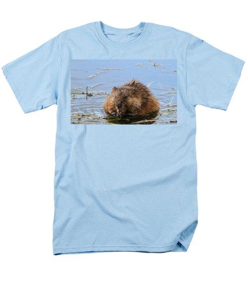 Beaver Portrait Men's T-Shirt  (Regular Fit) by Dan Sproul