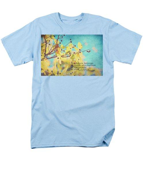 Believe In Dreams Men's T-Shirt  (Regular Fit) by Toni Hopper