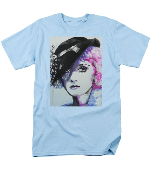 Bette Davis 02 Men's T-Shirt  (Regular Fit) by Chrisann Ellis