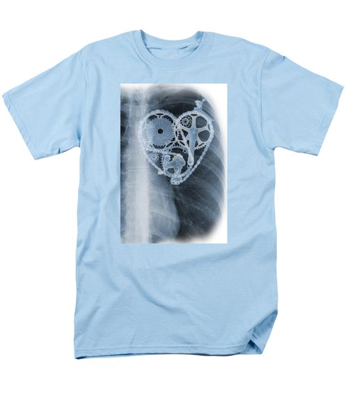 bike lover X-ray Men's T-Shirt  (Regular Fit) by Sassan Filsoof