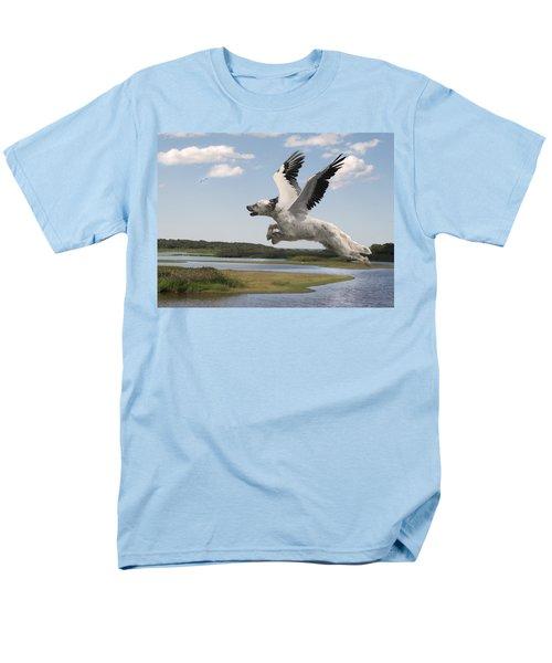Bird Dog Men's T-Shirt  (Regular Fit) by Rick Mosher