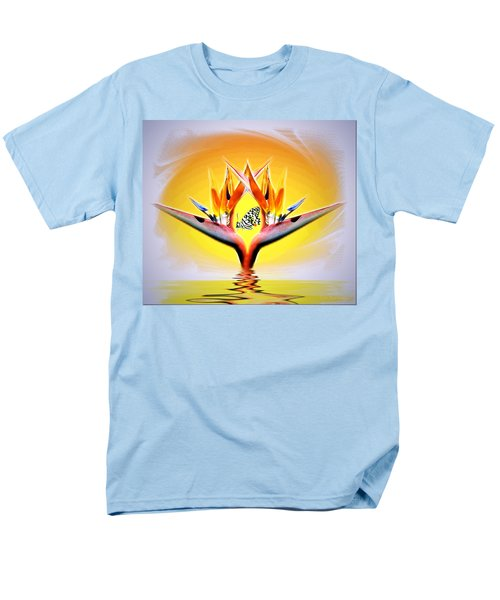 Men's T-Shirt  (Regular Fit) featuring the photograph Bird Of Paradise by Joyce Dickens