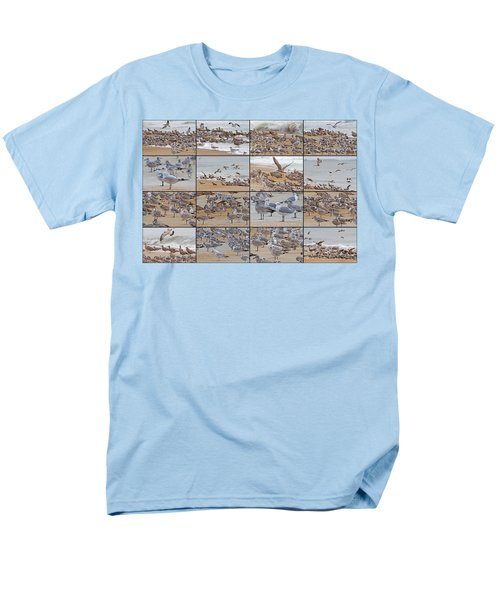 Birds Of Many Feathers Men's T-Shirt  (Regular Fit) by Betsy Knapp