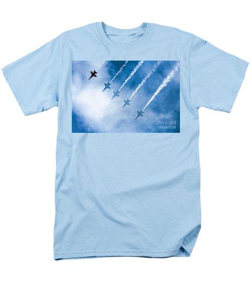 Blue Angels Men's T-Shirt  (Regular Fit) by Kate Brown