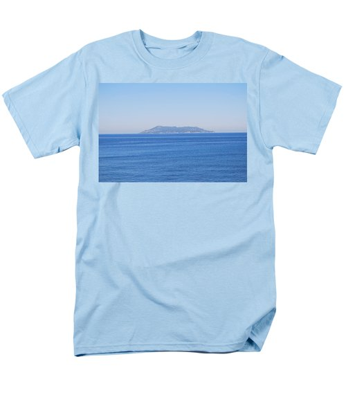 Men's T-Shirt  (Regular Fit) featuring the photograph Blue Ionian Sea by George Katechis