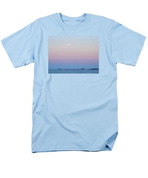 Blue Moon Eve Men's T-Shirt  (Regular Fit) by Deborah Lacoste