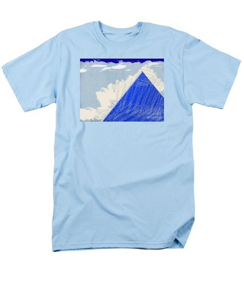 Men's T-Shirt  (Regular Fit) featuring the photograph Blue Mountain by Tina M Wenger