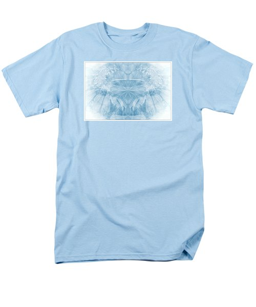 Men's T-Shirt  (Regular Fit) featuring the photograph Blue Serinity by Geraldine DeBoer