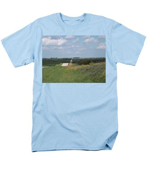 Blue Skies Men's T-Shirt  (Regular Fit)