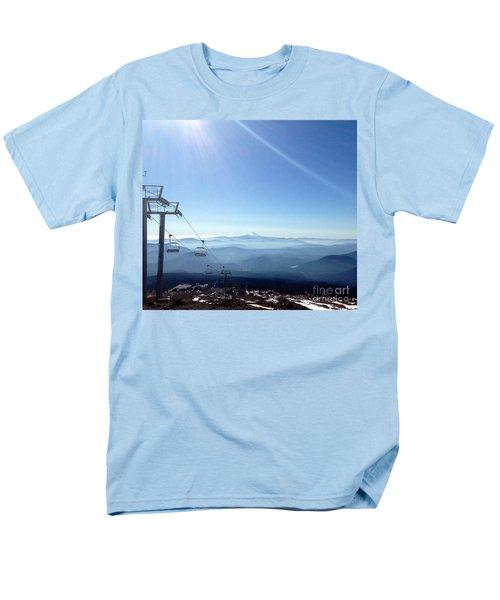 Blue Yonder Men's T-Shirt  (Regular Fit) by Susan Garren