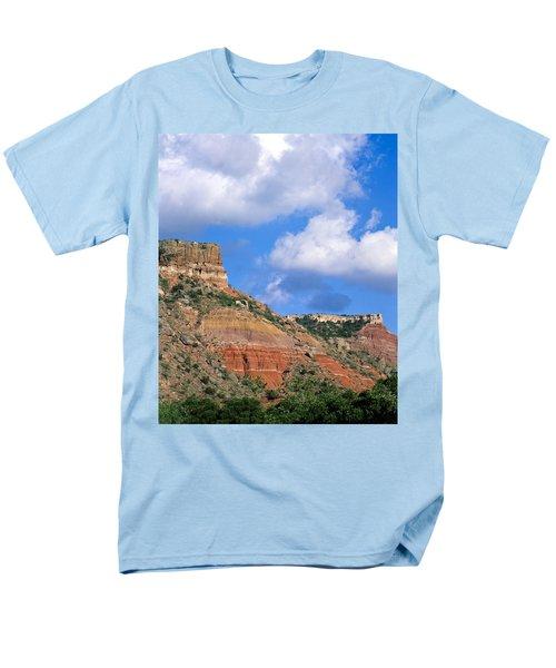 Bluffs In The Glass Mountains Men's T-Shirt  (Regular Fit)
