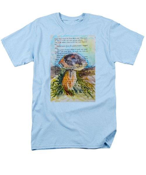 Men's T-Shirt  (Regular Fit) featuring the painting Boletus Edulis by Beverley Harper Tinsley