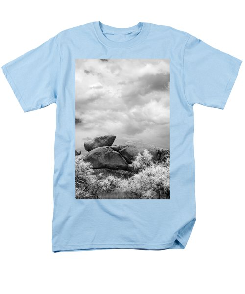 Boulders In Another Light Men's T-Shirt  (Regular Fit) by Michael McGowan