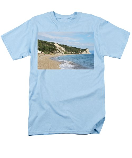 Men's T-Shirt  (Regular Fit) featuring the photograph By The Beach by George Katechis