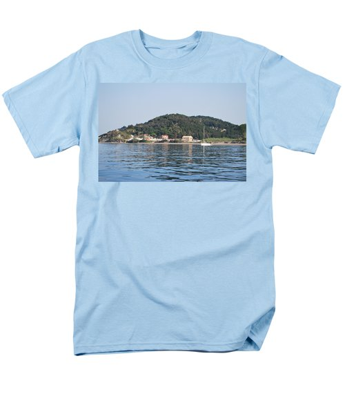 Men's T-Shirt  (Regular Fit) featuring the photograph By The Sea by George Katechis