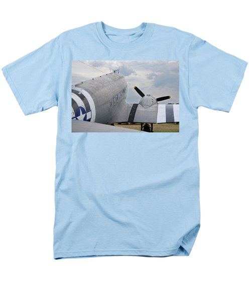 Men's T-Shirt  (Regular Fit) featuring the photograph C-47 3880 by Guy Whiteley