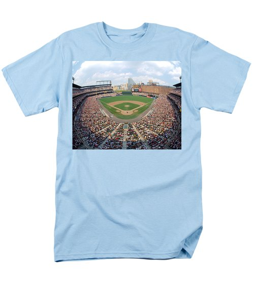 Camden Yards Baltimore Md Men's T-Shirt  (Regular Fit) by Panoramic Images