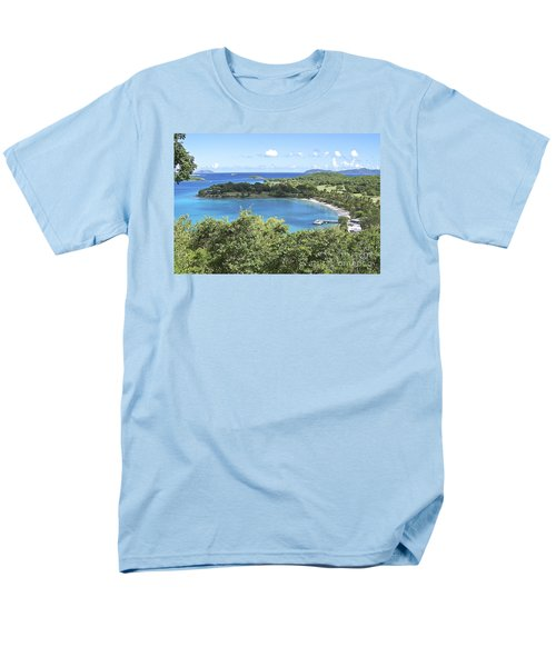 Men's T-Shirt  (Regular Fit) featuring the photograph Caneel Bay by Carol  Bradley