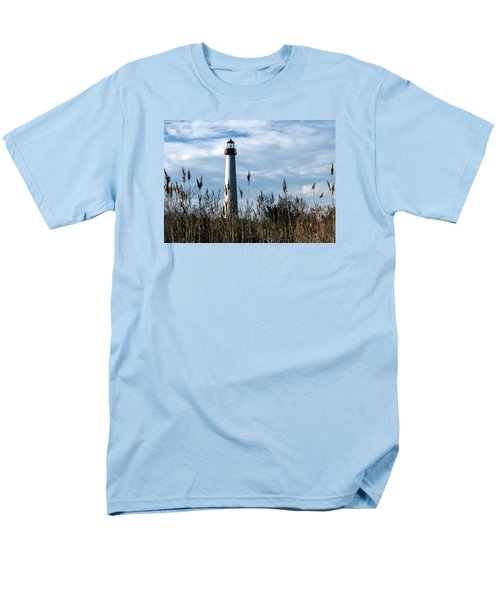 Cape May Light Men's T-Shirt  (Regular Fit) by Skip Willits