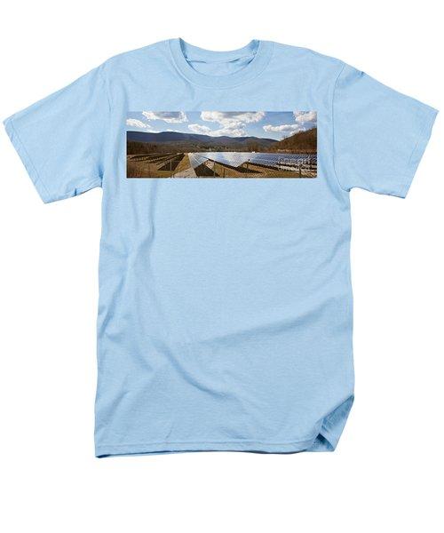 Men's T-Shirt  (Regular Fit) featuring the photograph Catching Rays  by Carol Lynn Coronios