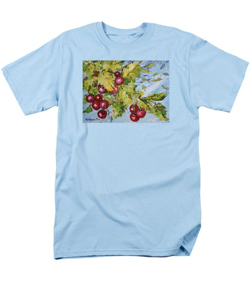 Men's T-Shirt  (Regular Fit) featuring the painting Cherry Breeze by Kathleen Pio