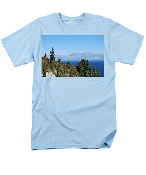 Men's T-Shirt  (Regular Fit) featuring the photograph Clear Day by George Katechis