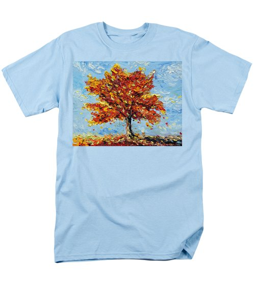 Men's T-Shirt  (Regular Fit) featuring the painting Clothed With Joy by Meaghan Troup